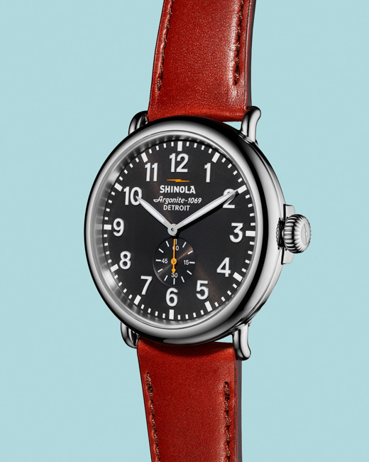 jarren vink shinola watch argonite-1069 detroit horology