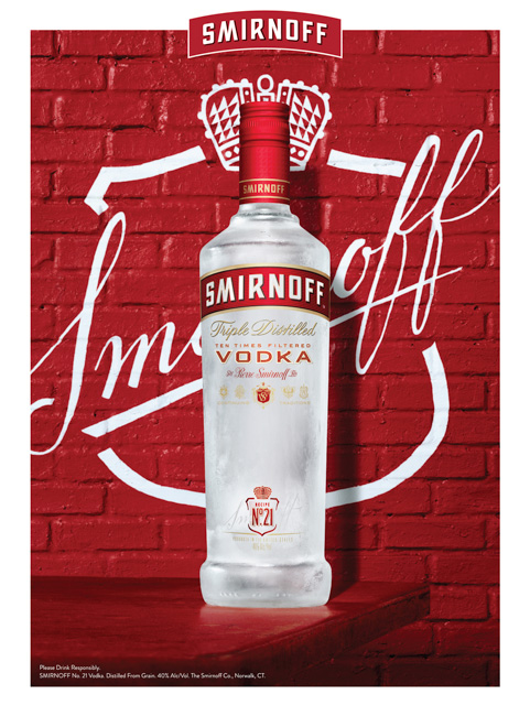 jarren vink smirnoff bottle vodka