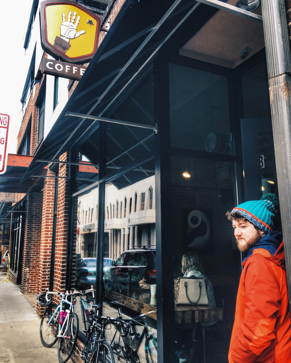 High Five Coffee in Downtown Asheville