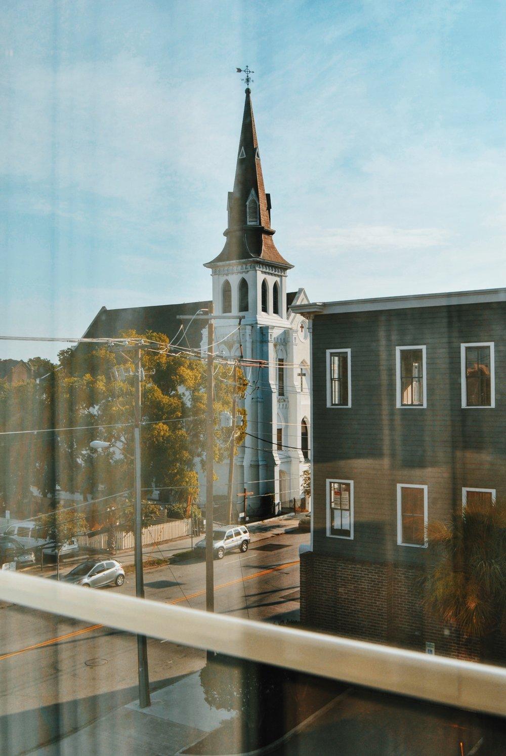 Mother Emanuel Church in Charleston SC