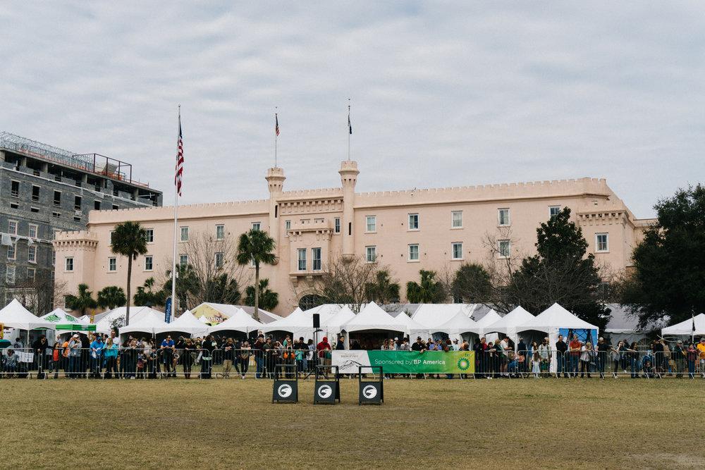 Birds of Prey Flight Demonstration in Marion Square Charleston SC