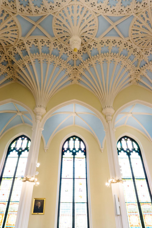 Unitarian Church in Charleston Fan Vaulted Ceiling