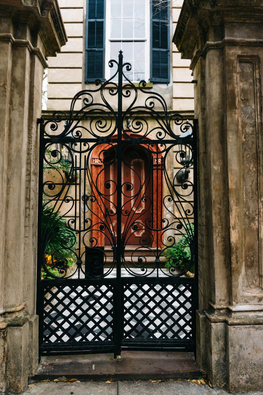 8 Legare Street Gate Charleston
