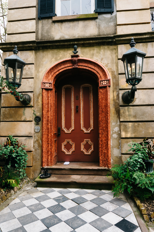 8 Legare Street Charleston Door