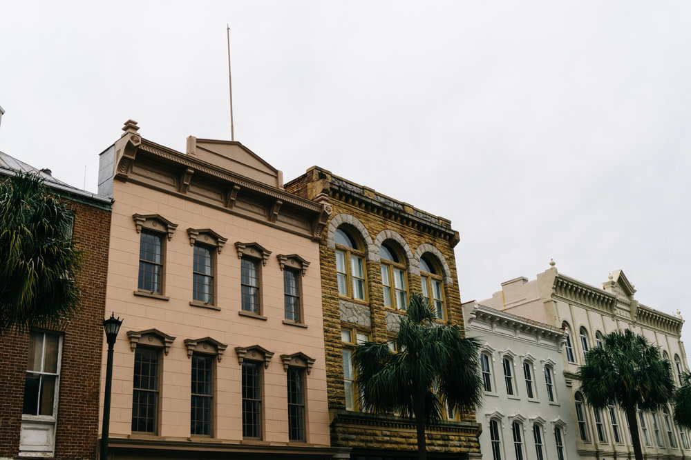 Broad Street rooftops charleston