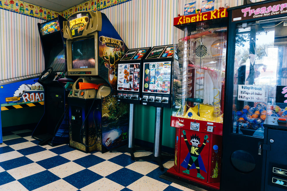 Ye Old Fashioned Game Room
