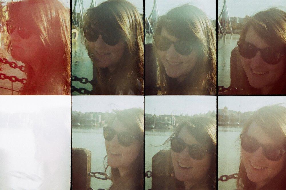 Me shot on an  Oktomat  by Alex
