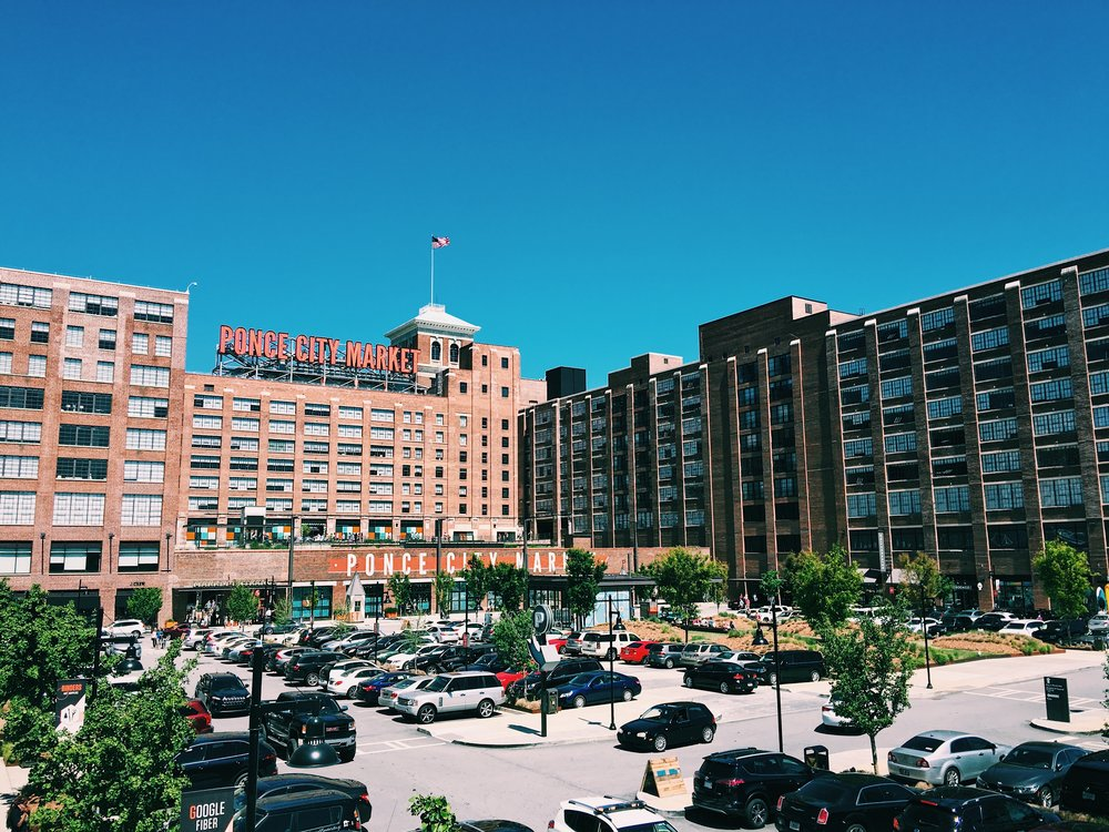 Ponce City Market in Atlanta's Old Fourth Ward