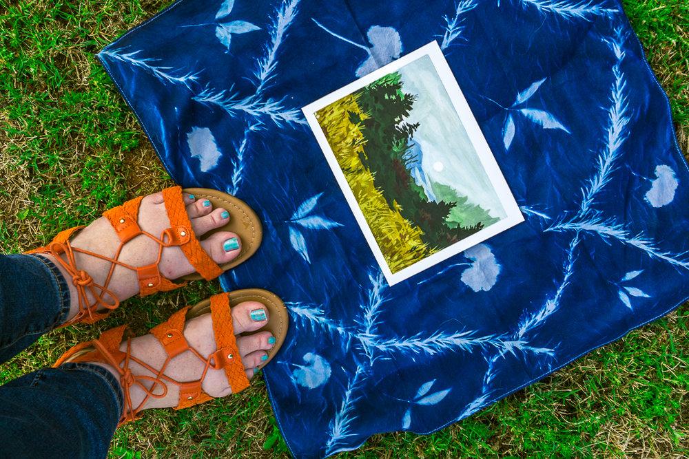 Alyssa Beck print - Augusta, GA landscape artist