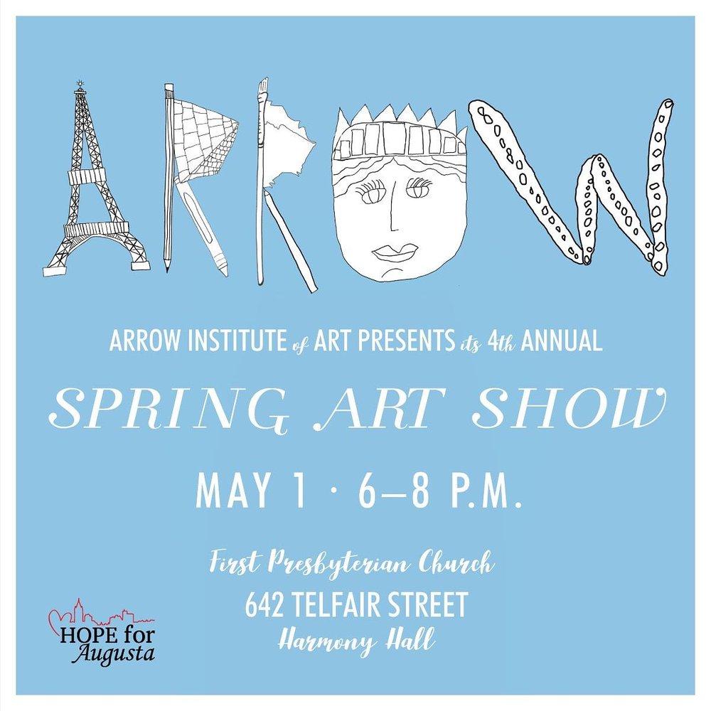 Arrow Art Show Flyer