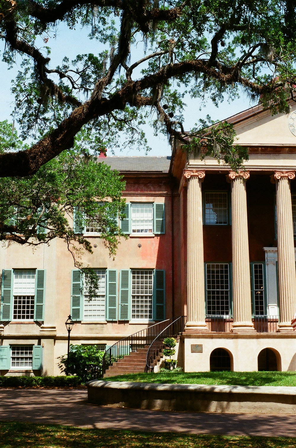 Randolph Hall in the Cistern at the College of Charleston in Charleston, SC