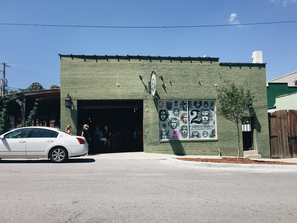 Green Man in Asheville, NC