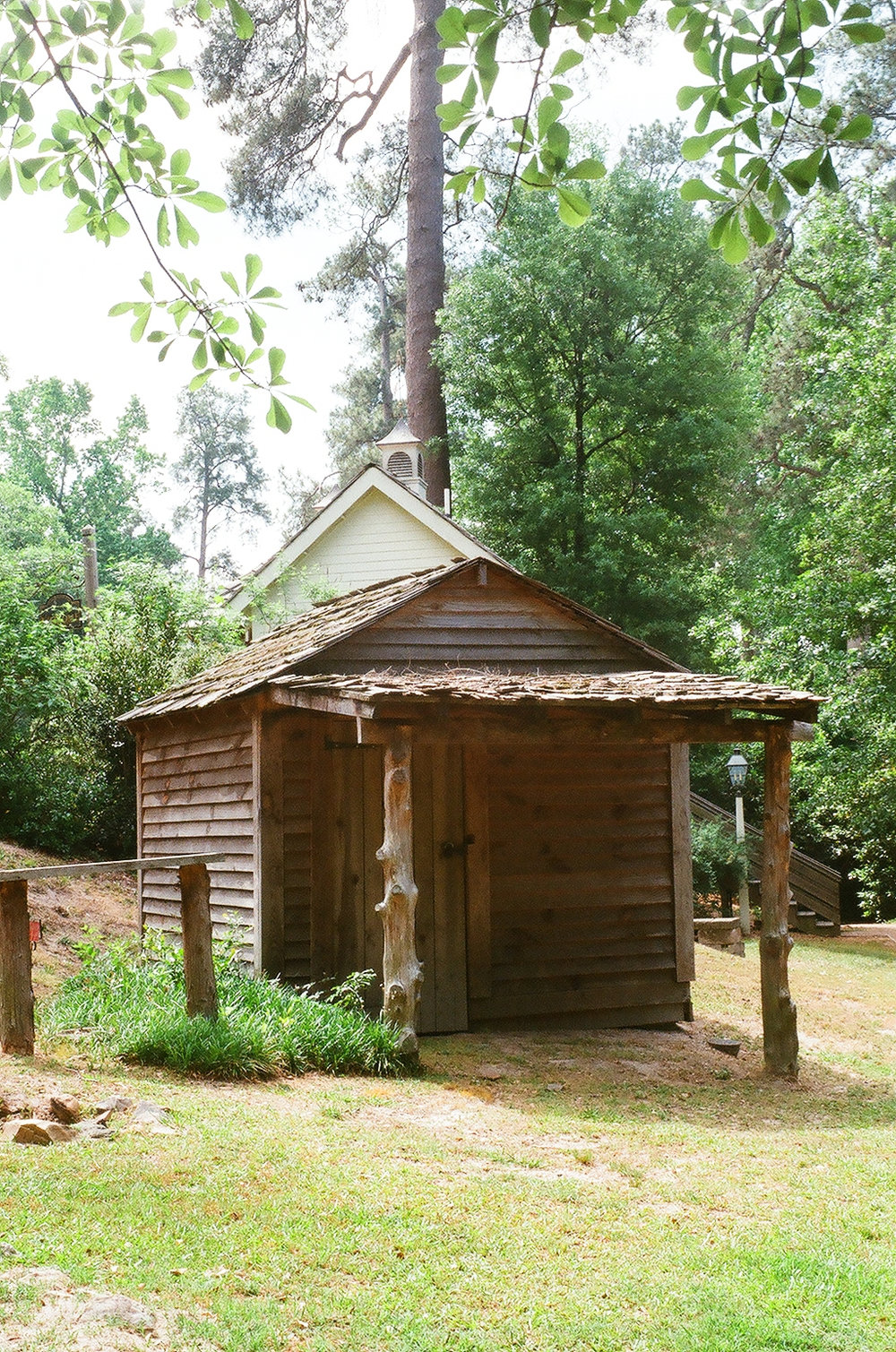 Freedmans Cottage at the Living History Park in North Augusta, SC