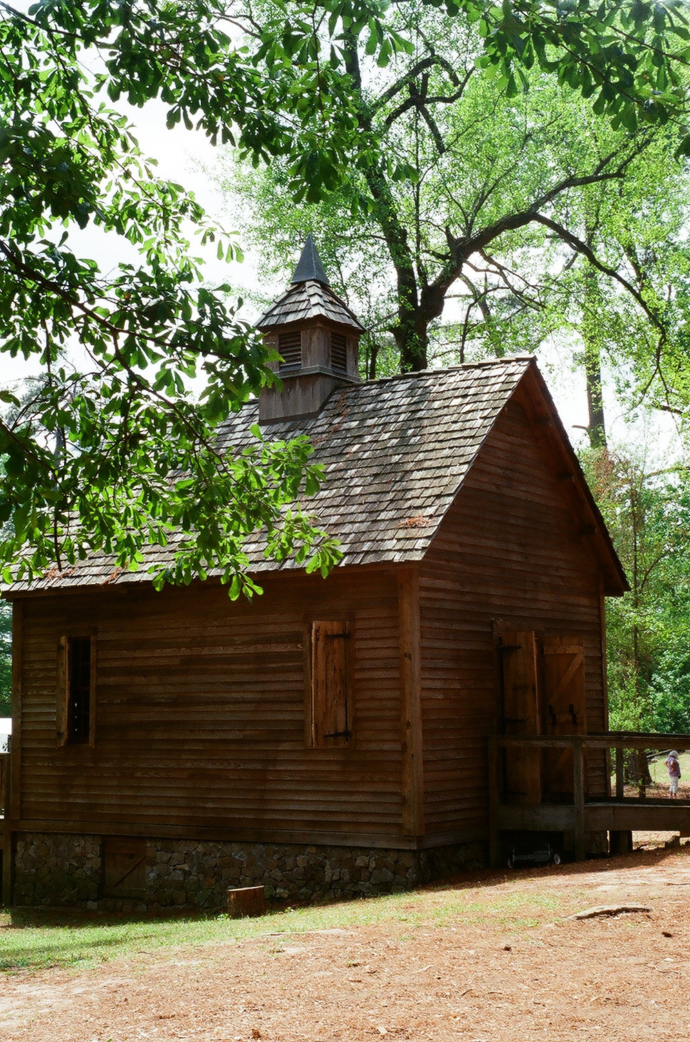 Meeting House at the Living History Park in North Augusta, SC