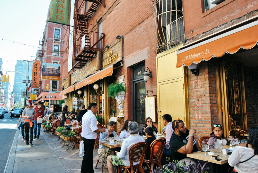 DeGenarro Little Italy NYC