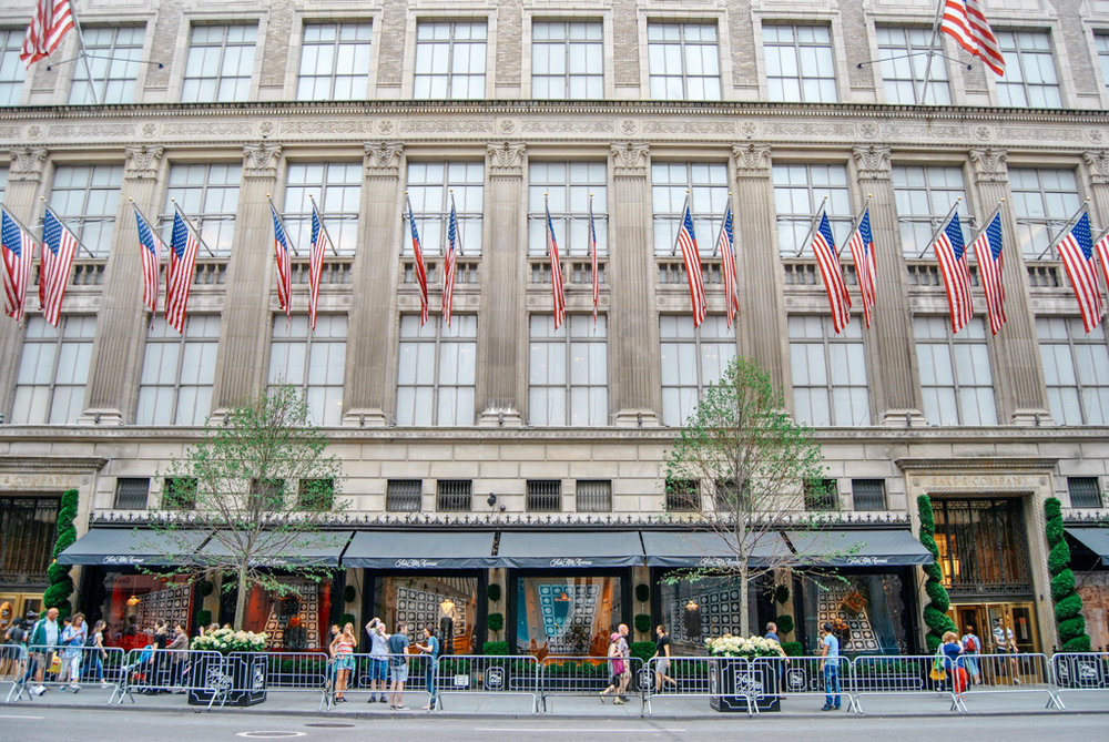 Saks Fifth Ave in NYC