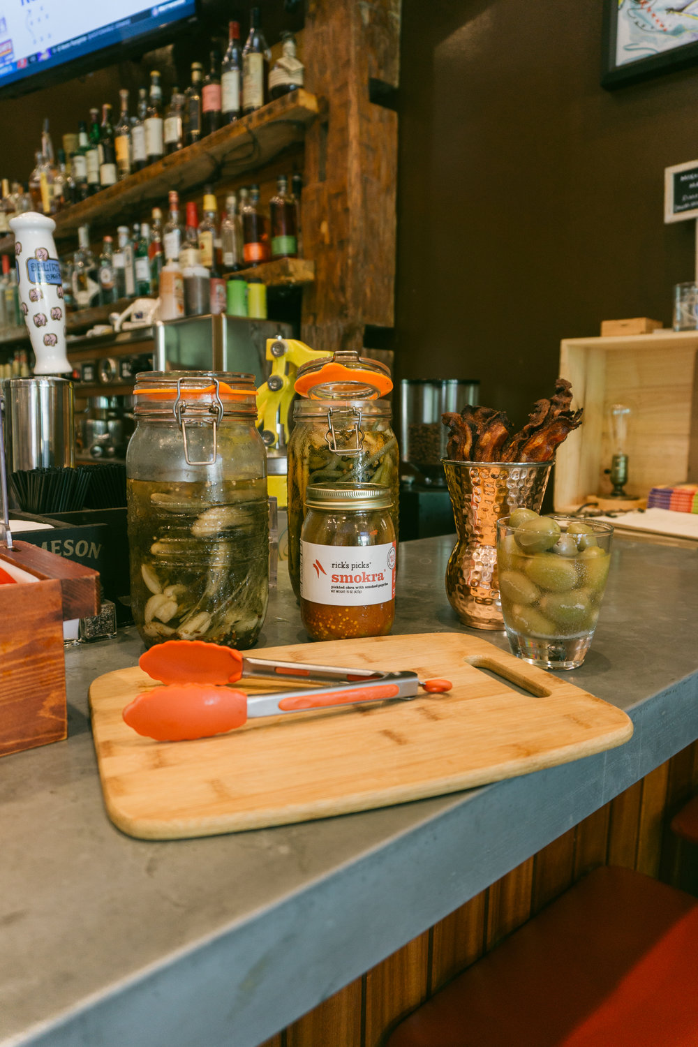 Hammond's Ferry Larder Bloody Mary Bar
