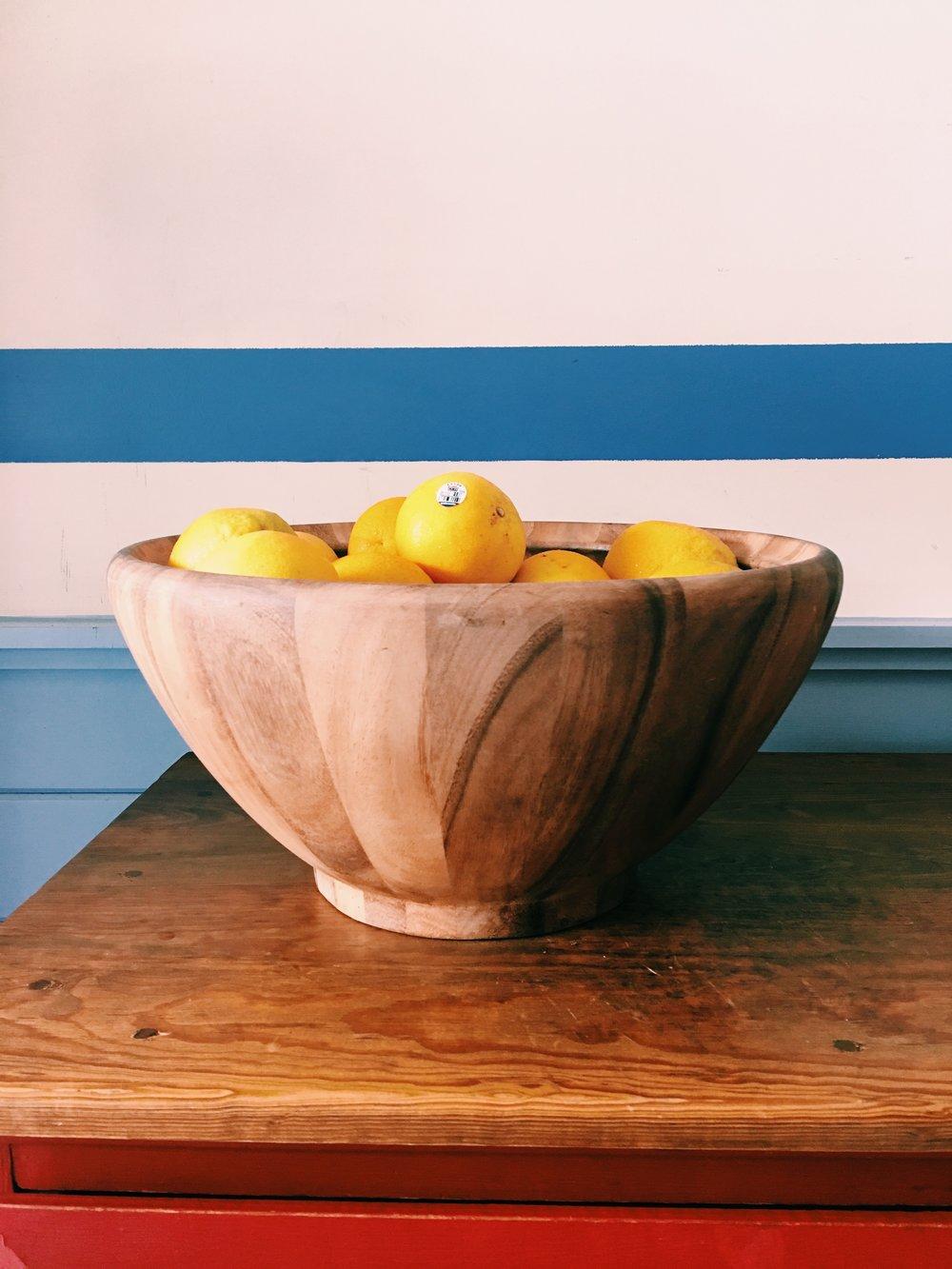 Lemons at Taquiera del Sol in Athens, GA