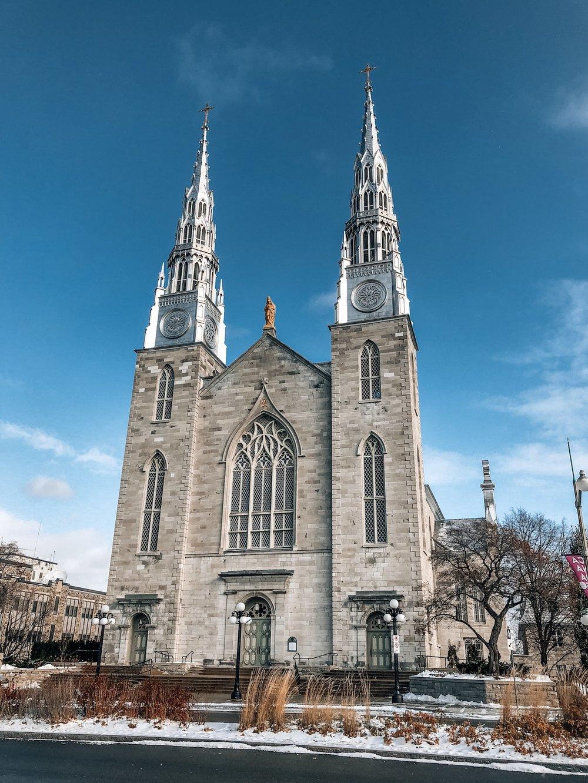 Notre Dame Cathedral Basilia Ottawa