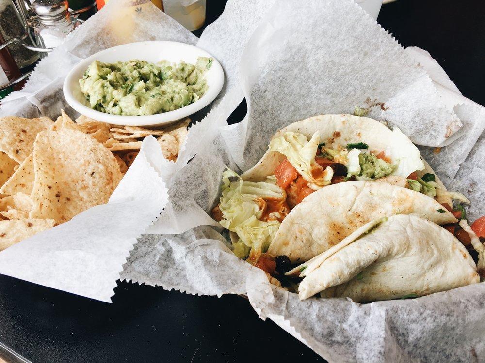 Tacos at Nacho Mamas Augusta GA