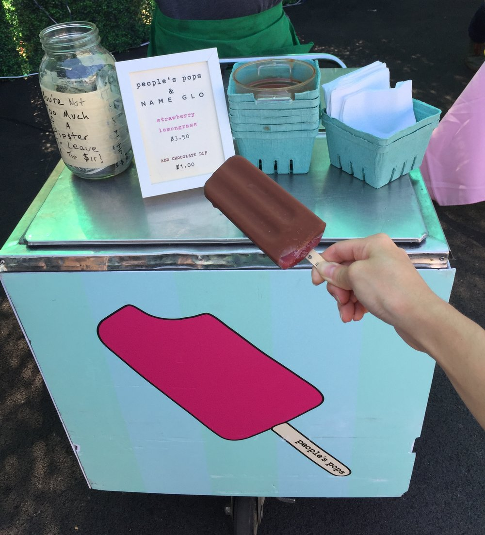 Chocolate Ice-pop Dipping Station!!!