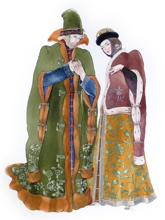 Боярин и боярыня, Маша Курбатова