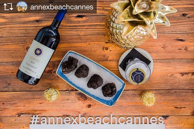 Repost from @annexbeachcannes HIGH-END OF ANNEX BEACH #gourmetrestaurant #exclusivecuisine #finefood #finewine #sassicaia #truffles #nuartevents #annexbeachcannes #beachclub #beachrestaurant #cannes #cannes2017 #croisettecannes #summer2017