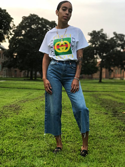 gucci inspired t shirt. vintage gucci inspired t-shirt t shirt