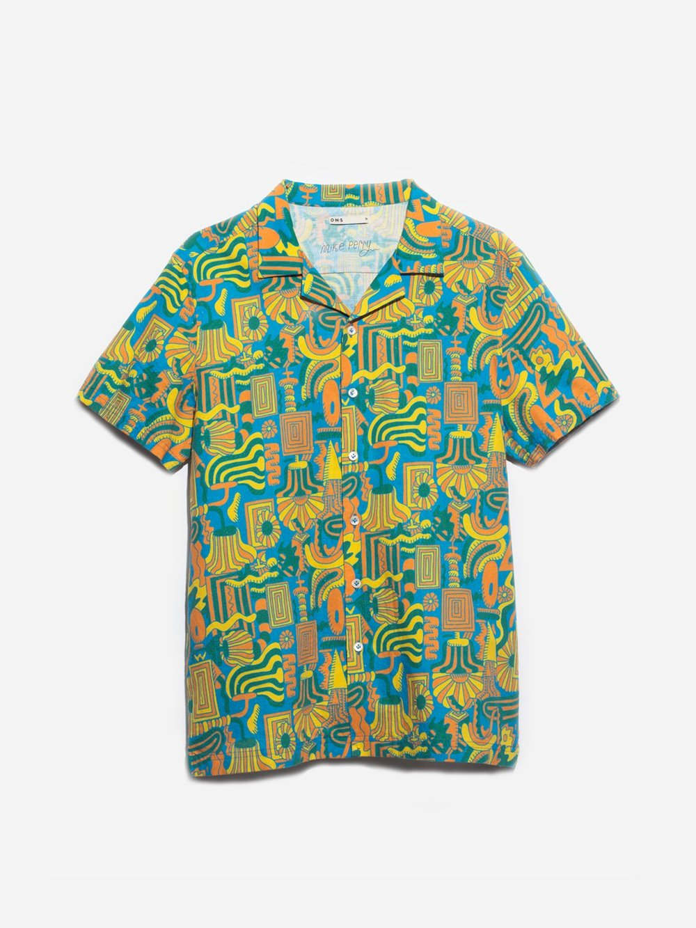 I plan on pairing this shirt with the matching shorts!
