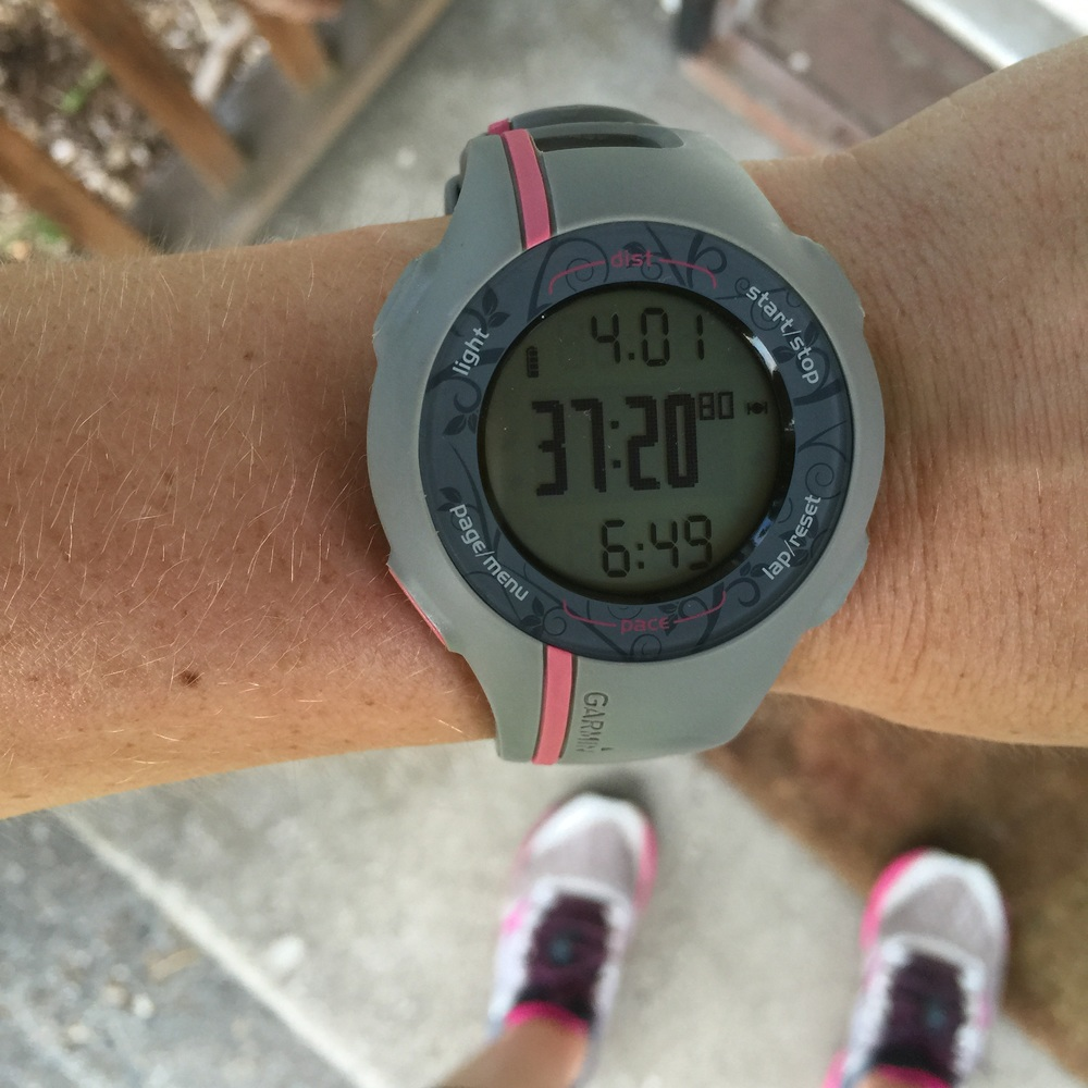 Don't let that 6:49 fool you, Garmin be crazy.