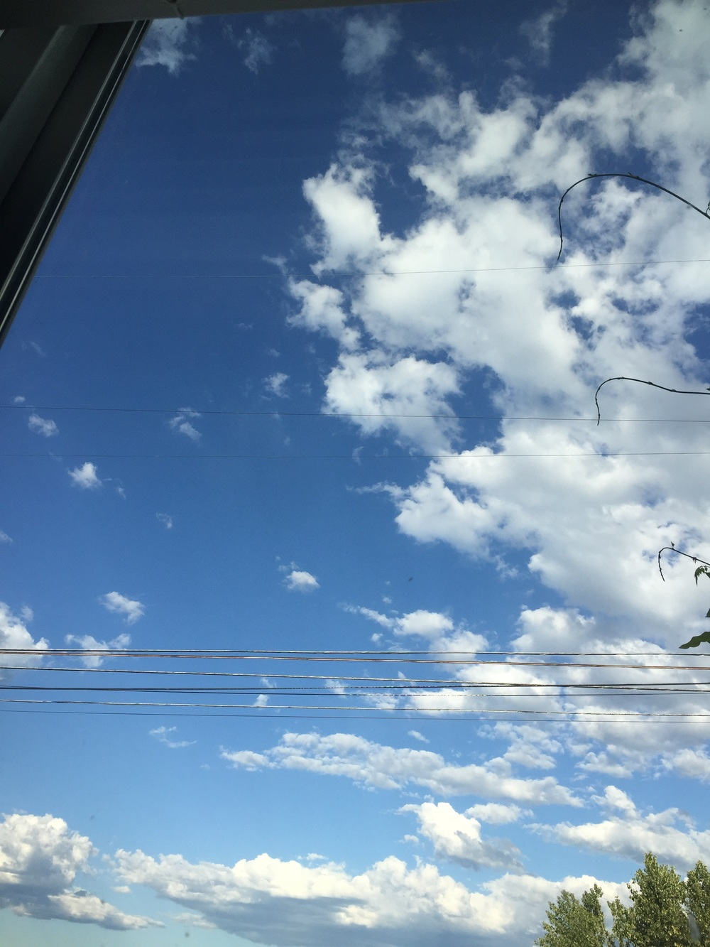 More sky. SO NICE.