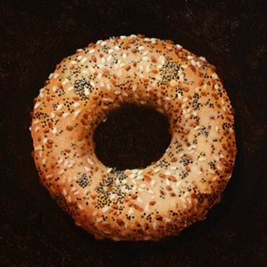 "EVERYTHING BAGEL 12""x12"""