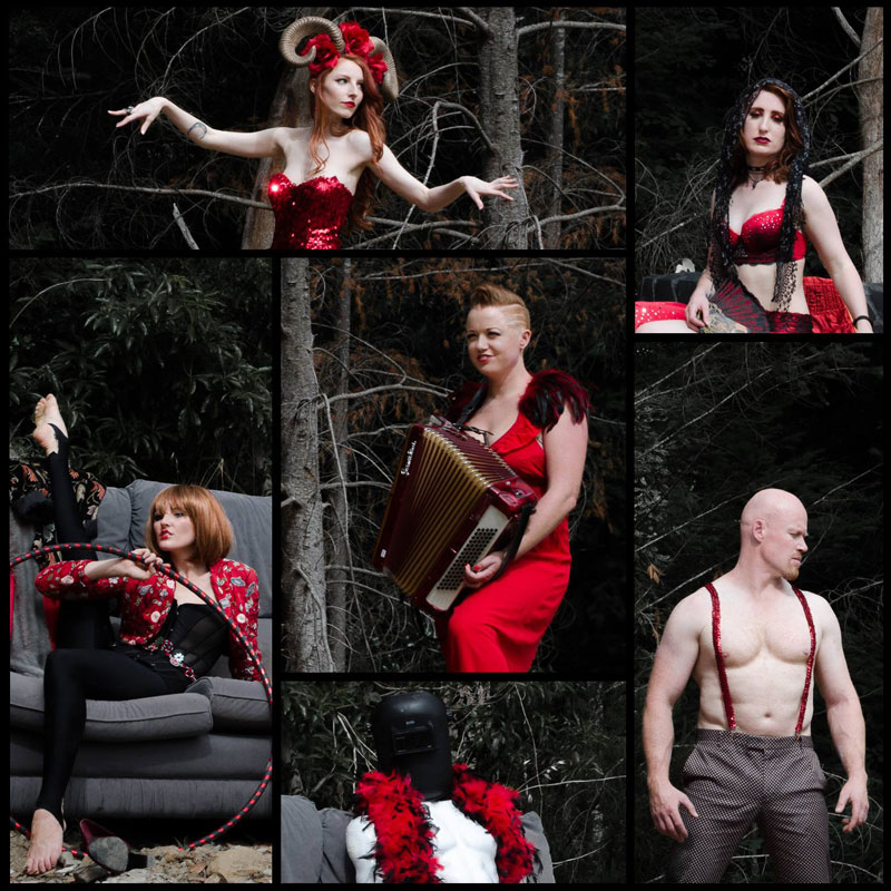 FIRE! THE REDHEAD CABARET