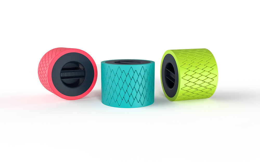 Available in three great colours - Coral, Teal and Lime