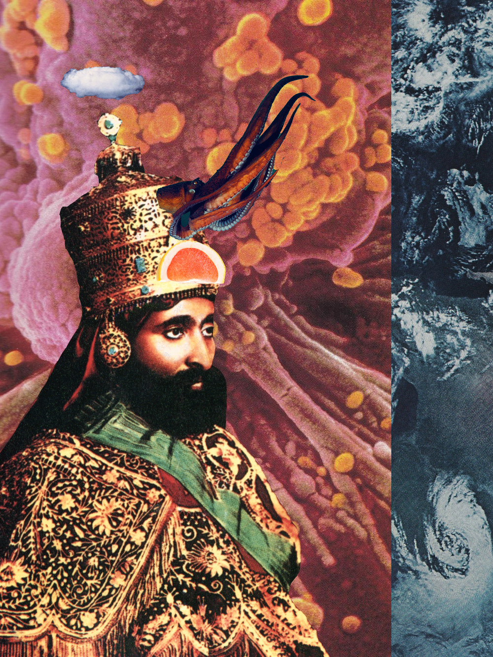 Persian King [collage, 2015]