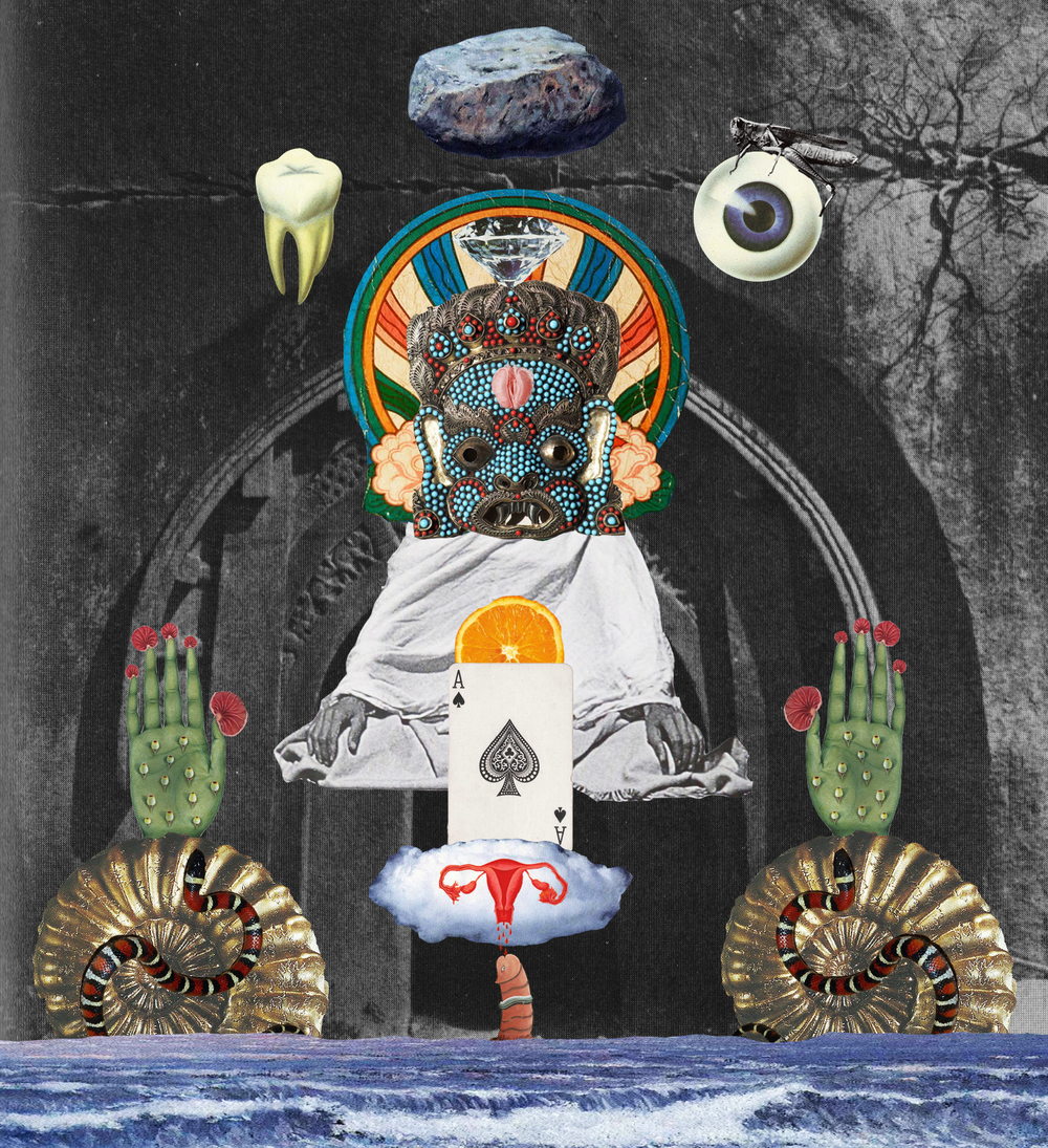 Psychomagick [collage, 2015]
