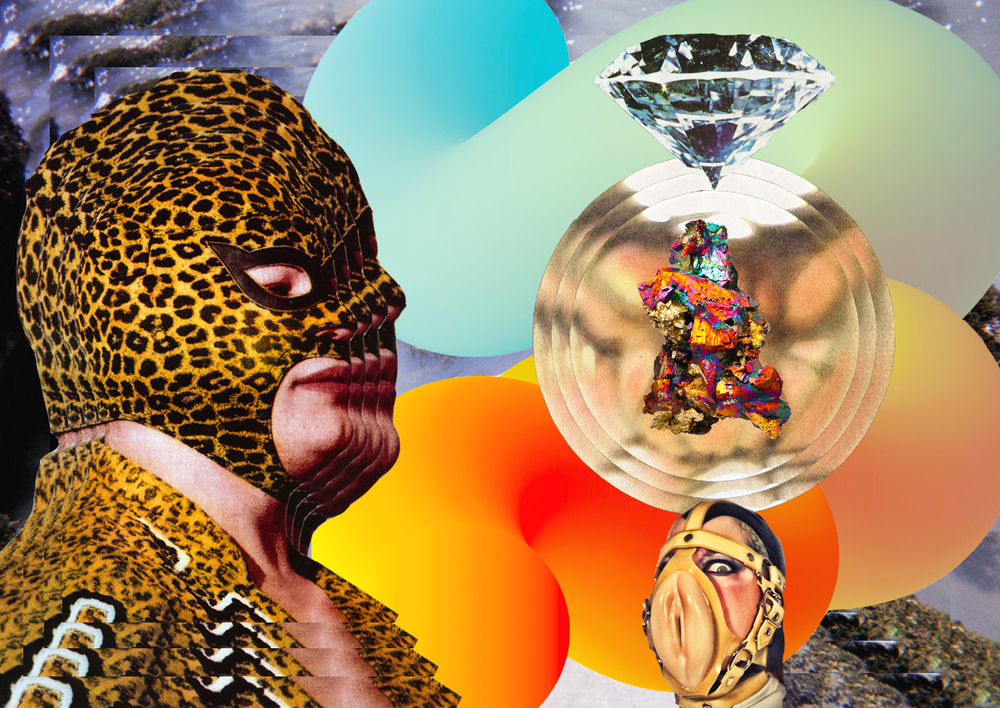 Modern Day Luxuries  [collage, 2015]