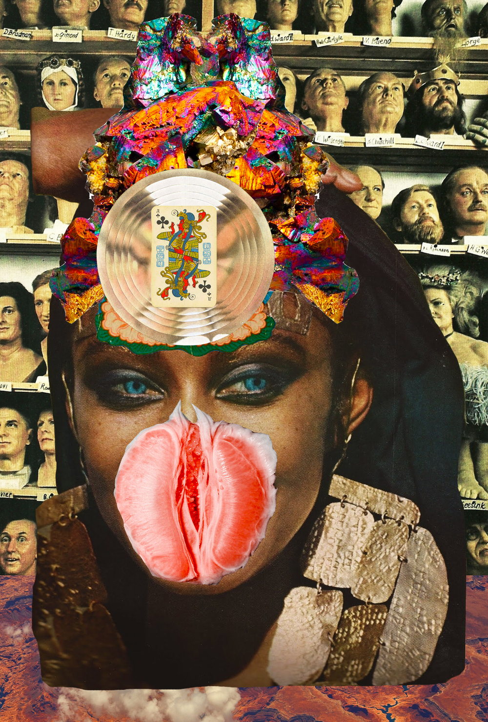 Fem Force [collage, 2015]