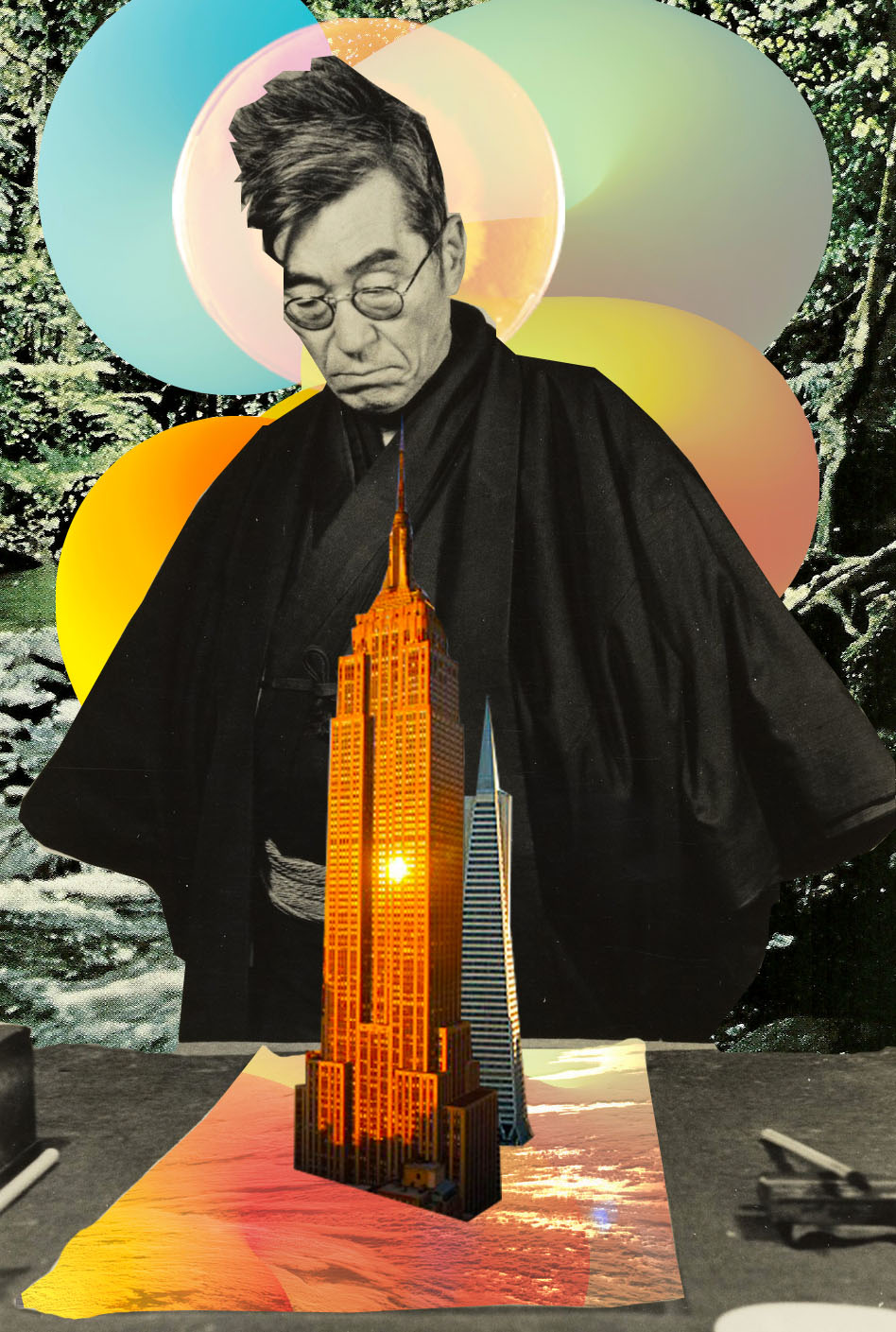 Capitalism Zen [collage, 2015]