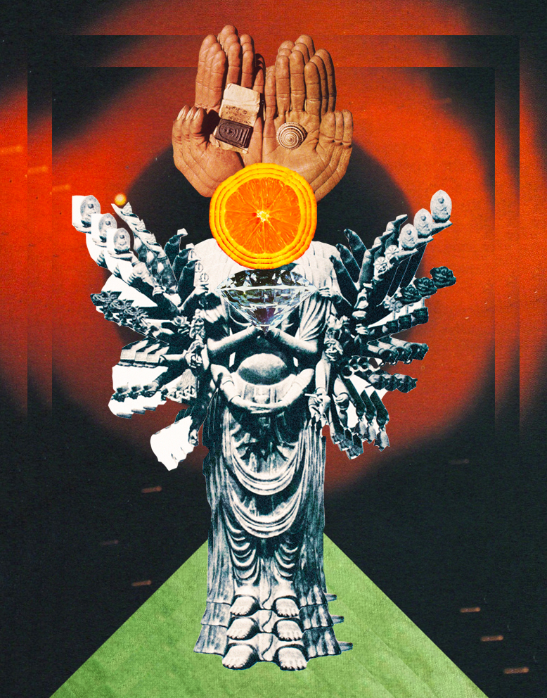 Cyber Entity [collage, 2015]