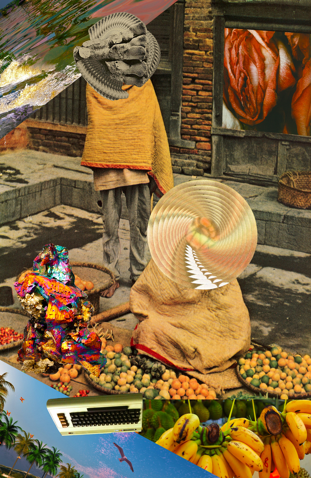 Cyber Vegies [collage, 2015]