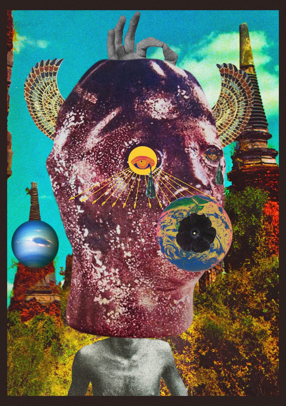The One Who Came Before I [collage, 2016]