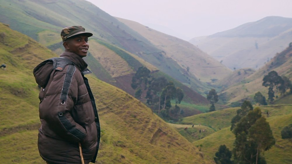"""Still shot from the documentary """" This is Congo. """" By: Dan McCabe, Director / Producer / DP."""