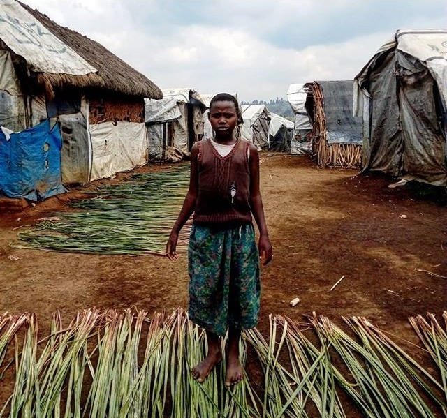 © Ley Uwera, A girl in Kizimba Camp. 2018