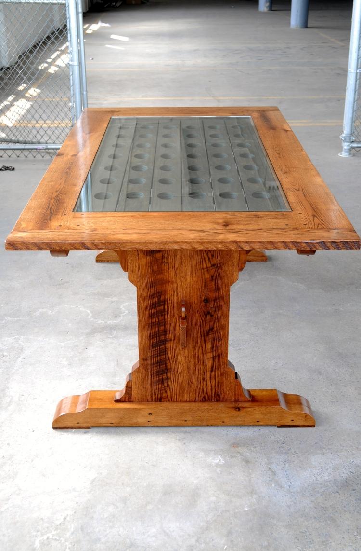 wine rack table. Wine Rack Dining Table