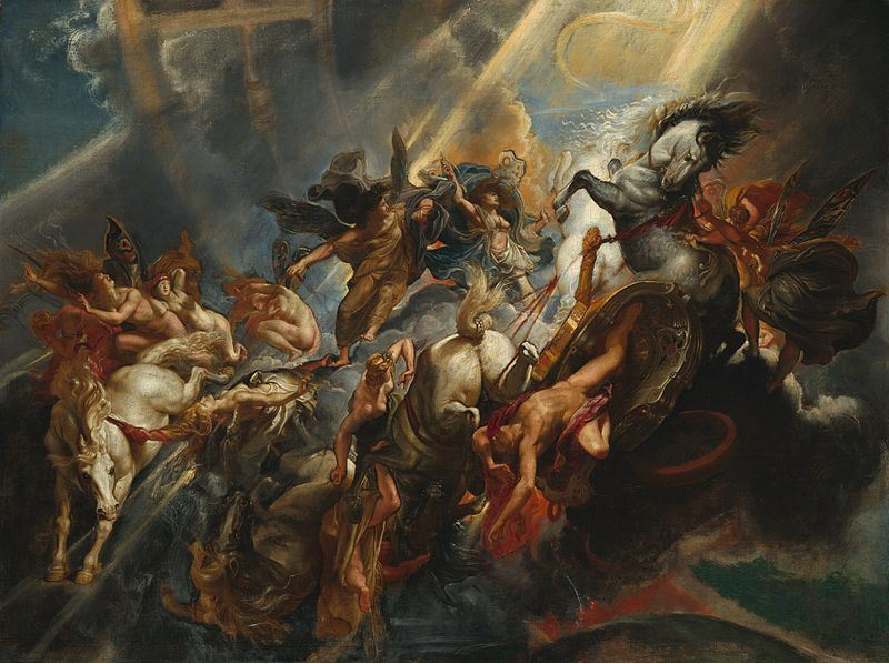 The Fall of Phaeton  by Peter Paul Rubens (1605), The National Gallery of Art Washington DC, Source:  Wikipedia