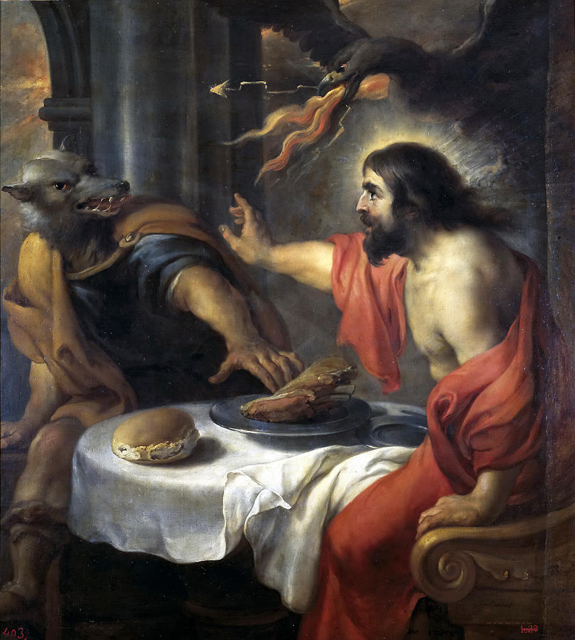 Jupiter and Lycaon  by Jan Cossiers (17th Century), Prado Museum. Source:  Wikipedia