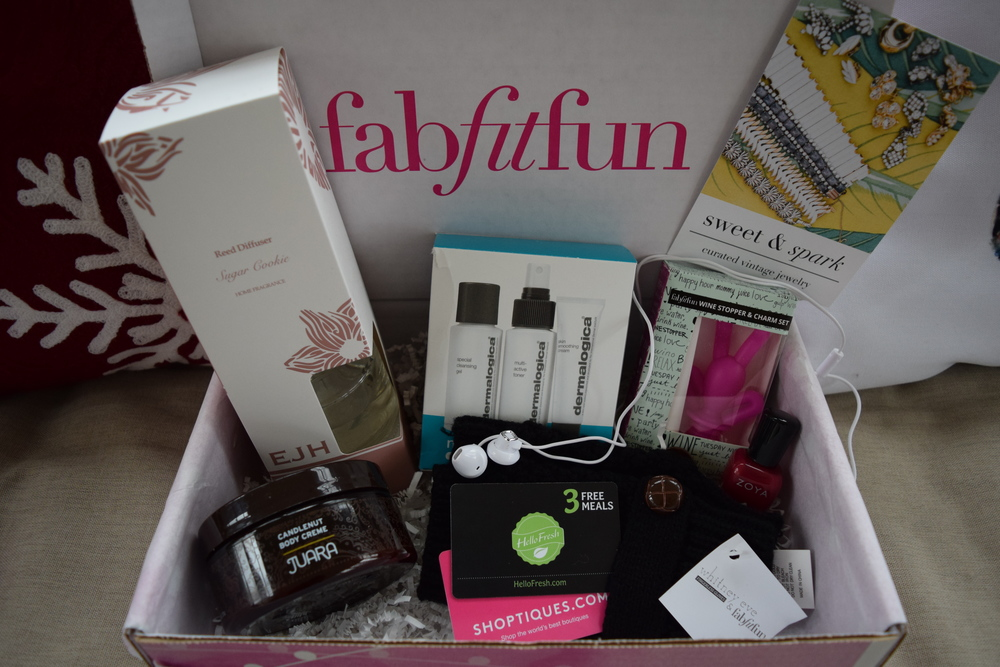 fab, fit, fun winter box!