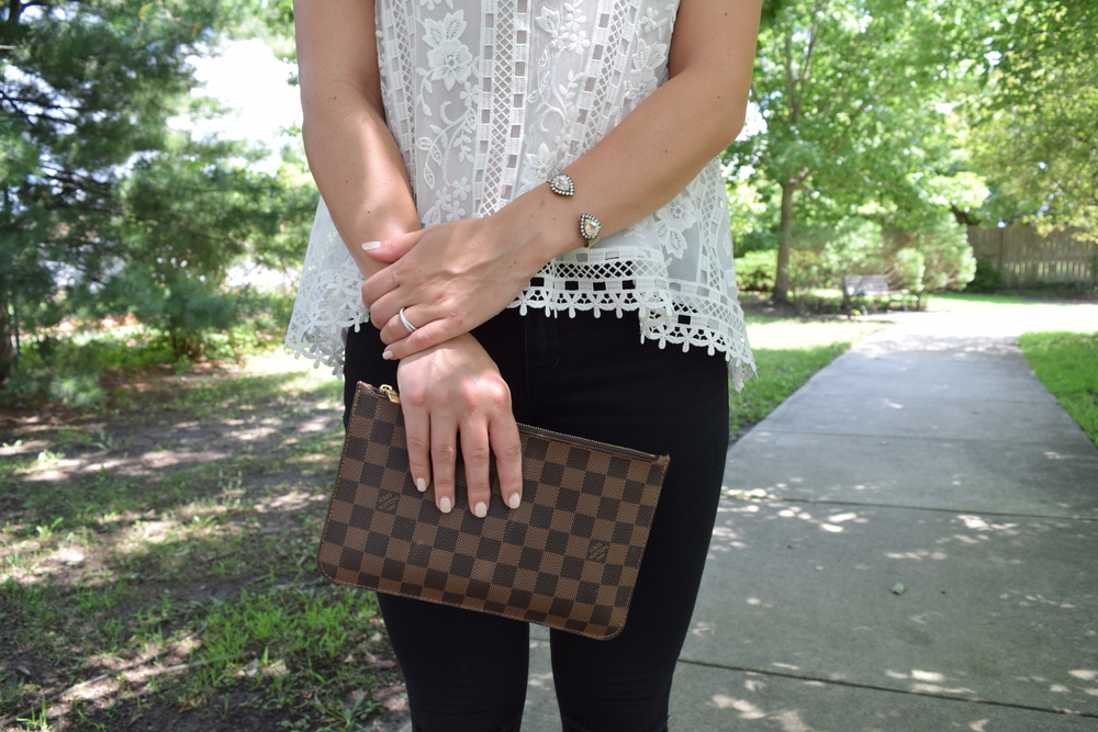 Loren Hope & Louis Vuitton details // pinebarrenbeauty.com