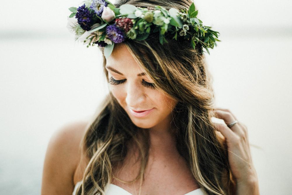 flower crown // pinebarrenbeauty.com